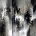Un ensemble de trois tableaux de 150 par 50… Un vrai défi pour moi qui ne sait où ma Foi se situe… Une vrai épreuve, mais aussi, un vrai régal… […]