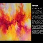 Poudre 100x100 - 2014 Huile et acrylique sur toile