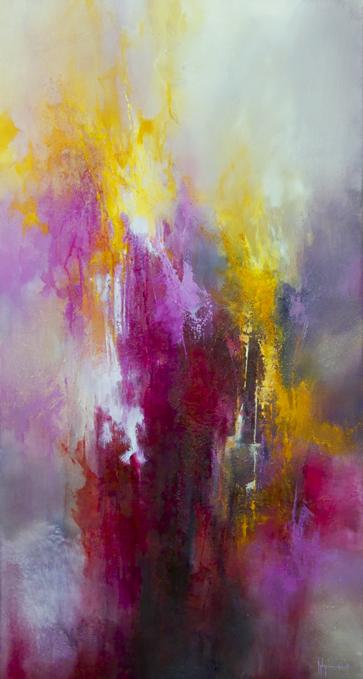 Proserpine Huile et acrylique sur toile 120x60 - 2013