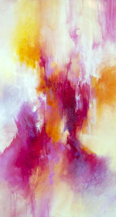 Vénus Huile et acrylique sur toile 120x60 - 2013