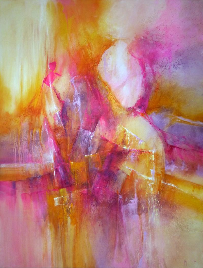 Huile et acrylique sur toile 130x97